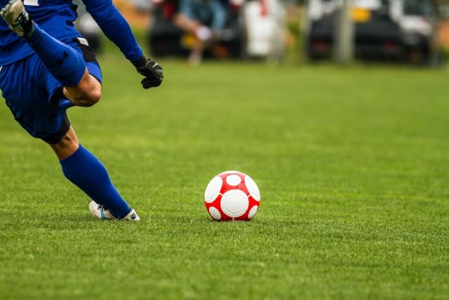サッカーイメージ写真